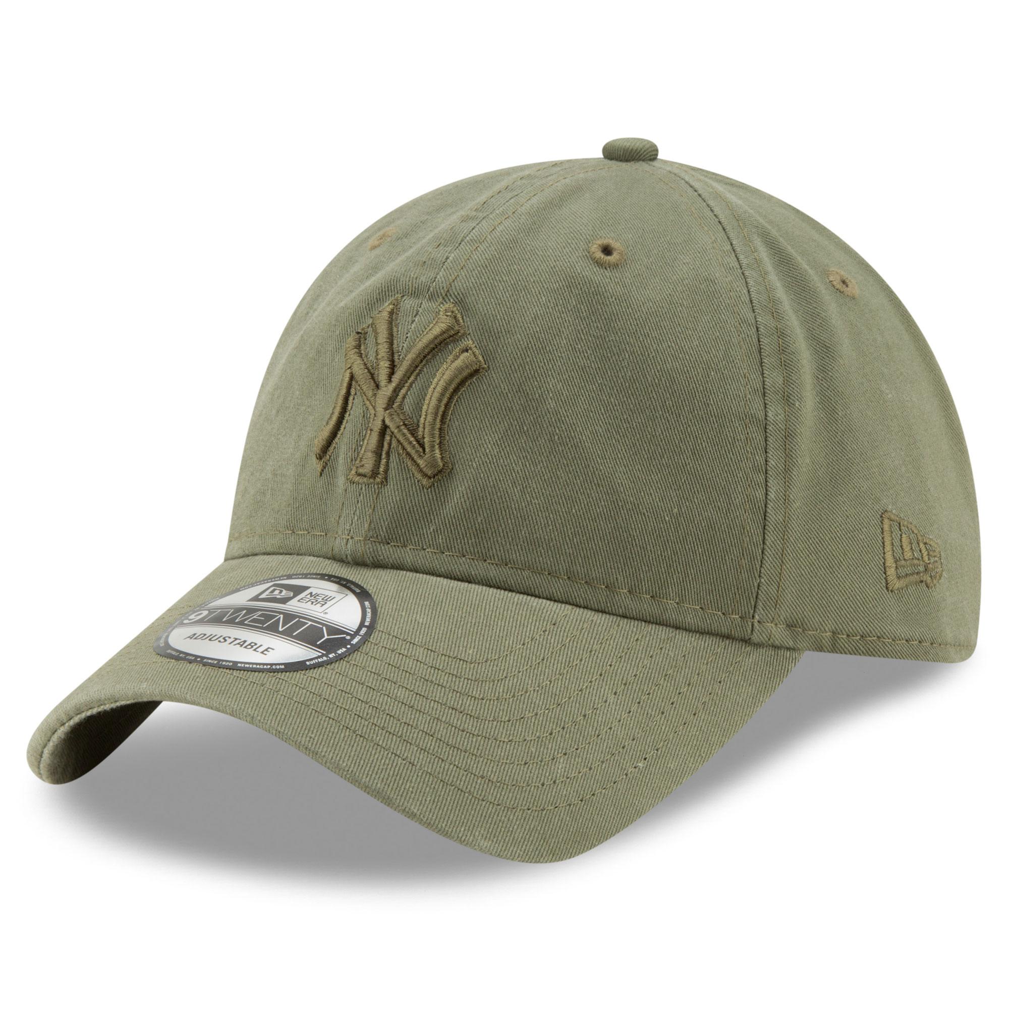 New York Yankees New Era Tonal Bark Core Classic 9TWENTY Adjustable Hat - Green - OSFA