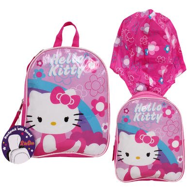 Hello Kitty Pink 10.5in Backpack