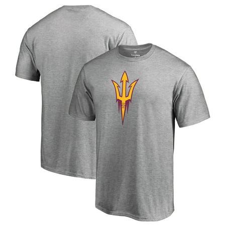Arizona State Sun Devils Fanatics Branded Primary Team Logo T-Shirt - Ash - University Of Arizona Logo