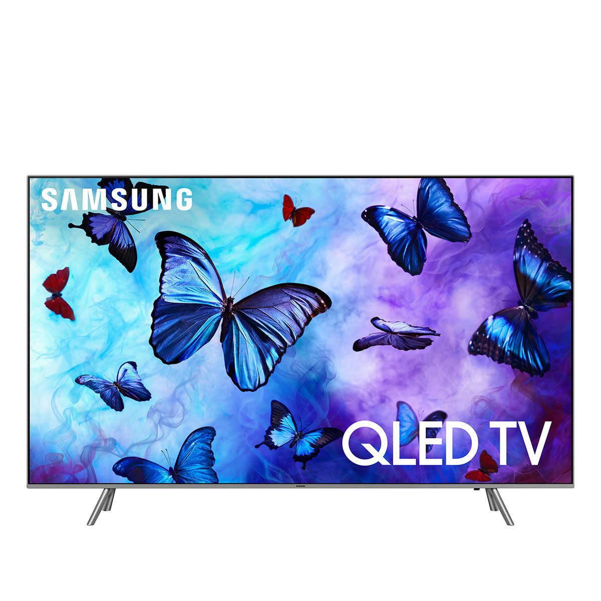 "Refurbished Samsung 65"" Class 4K (2160p) HDR Smart QLED TV (QN65Q6FNFXZA)"