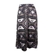 INC Women's Harvest Sun Elastic Waist Jersey Maxi Skirt