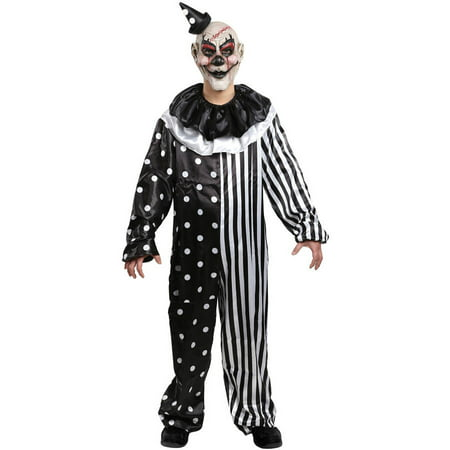 Kill Joy Clown Boys Child Halloween Costume, One Size, M (8-10)](Clown Face Designs Halloween)