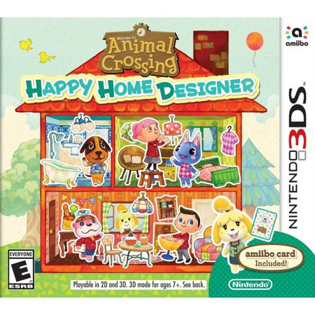 Animal Crossing Happy Home Designer + amiibo card 3DS](Animal Crossing New Leaf Halloween Room)