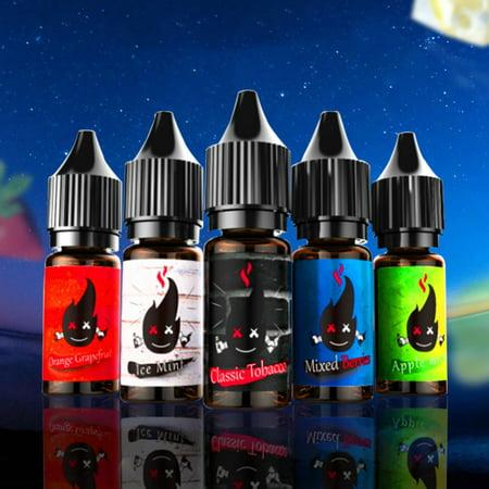 Mutil Flavors Premium Vape Juice 20mg/mL Stress Relief, 5 Bottle