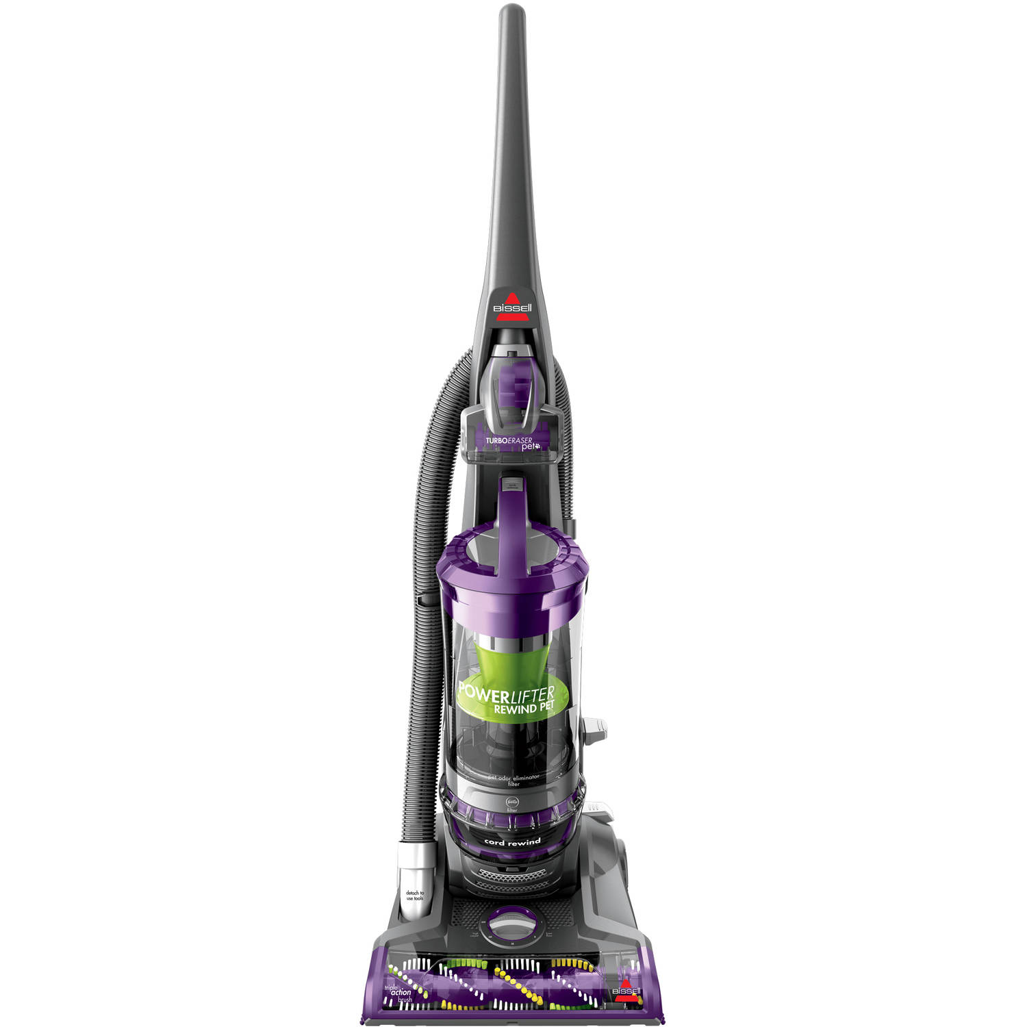 Bissell PowerLifter Pet Rewind Bagless Upright Vacuum Cleaner (Automatic Cord Rewind), 1792