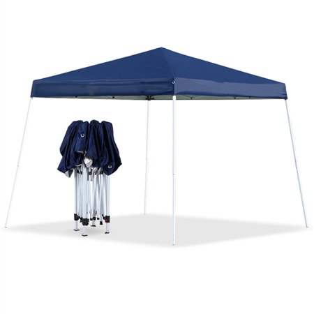 Ktaxon 8'x 8' Outdoor Sun Shade Sport EZ Pop-Up Canopy Party Weeding Tent Gazebo Blue (Up Sports)