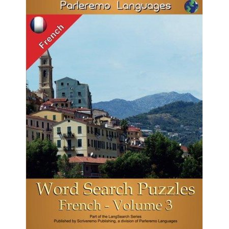 Parleremo Languages Word Search Puzzles French   Volume 3