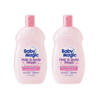 Baby Magic Hair & Body Wash, Original Baby Scent 16.5oz