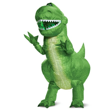 4 Person Halloween Costume Ideas Funny (Boy's Rex Inflatable Halloween Costume - Toy Story)