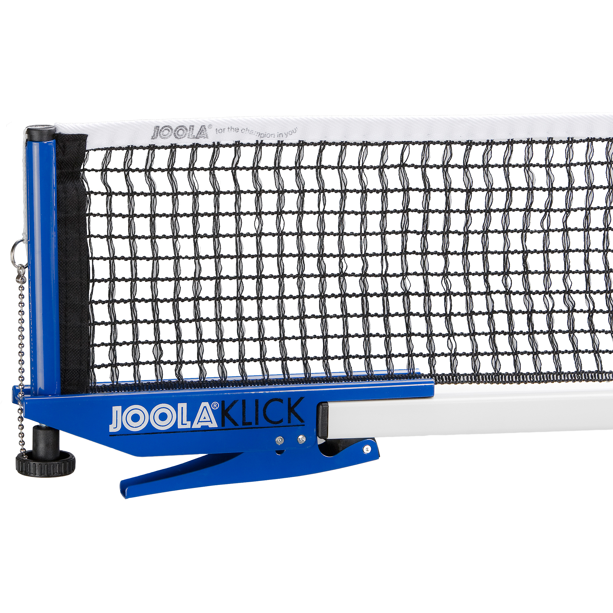 Joola Klick Clip On Table Tennis Net and Post Set, Blue