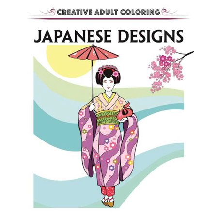 Japanese Warrior Designs (Creative Escapes Coloring Book: Japanese)