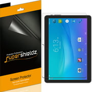 [3-Pack] Supershieldz for Onn 10.1 inch Tablet / Onn Tablet Pro 10.1 inch Screen Protector, Anti-Bubble High Definition (HD) Clear Shield