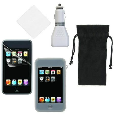 Cta Digital Travel Kit - CTA Digital IP-T5K 5-in-1 Starter Kit for iPod Ttouch
