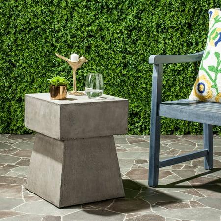 Zen Table Gong (Safavieh Zen Indoor/Outdoor Mushroom Accent Table )