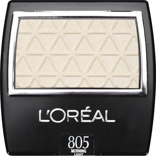 L'Oreal Paris Wear Infinite Eye Shadow, 805 Morning Light, 0.1 oz