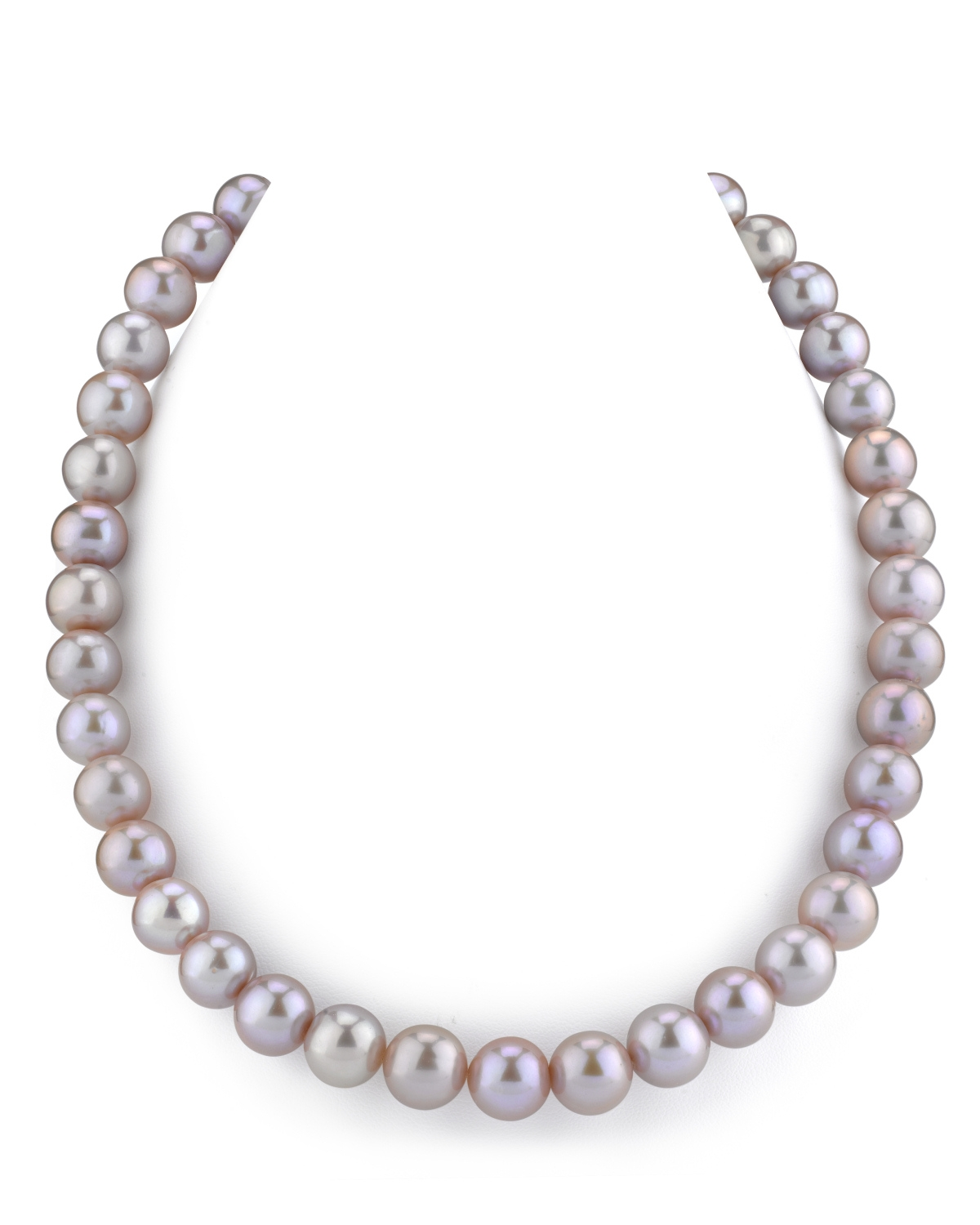 """THE PEARL SOURCE 14K Gold 11-12mm AAA Quality Pink Freshwater Cultured Pearl Necklace for Women in 16"""" Choker... by The Pearl Source"""