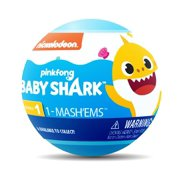 Mash'ems Baby Shark - Squishy Surprise Characters - Collect All 6 - Series 1