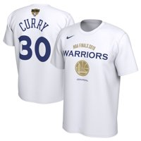 Stephen Curry Golden State Warriors Nike Youth 2019 NBA Finals Bound Name & Number T-Shirt - White