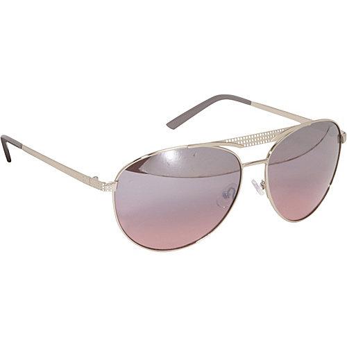 Rocawear Sunwear Metal Detail Aviator Sunglasses