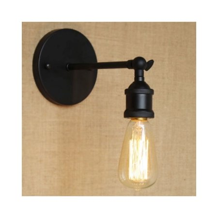 save off 65c7b f4fb0 E26/E27 Single Light Exposed Edison Bulb Wall Sconce Mini ...