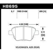 Hawk 12 Audi A3 / 11-12 VW Golf GTI/Jetta S/Jetta SE/Jetta SEL/Jetta TDI HPS Street Rear Brake Pads