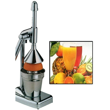 Durable Manual Press Juicer Orange Citrus Extractor Stainless Steel Juicer ()