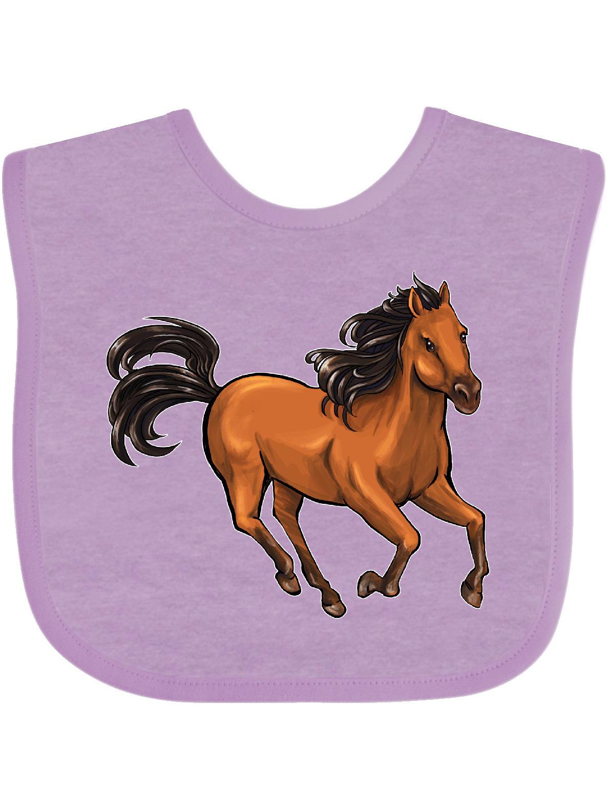 Wild Mustang Horse Galloping Baby Bib Walmart Com Walmart Com