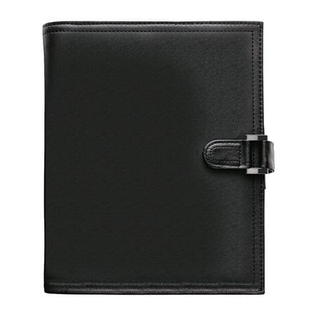 Day-Timer Soft Flex Leatherlike Starter Set, 5 1/2 x 8 1/2, Black