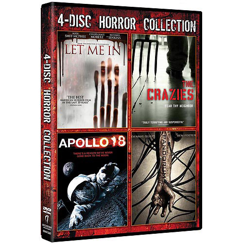 Let Me In / The Crazies / Apollo 18 / Pandorum (Widescreen)