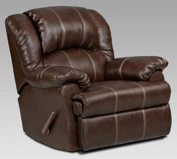 Ambrose 41 in. Chaise Rocker Recliner
