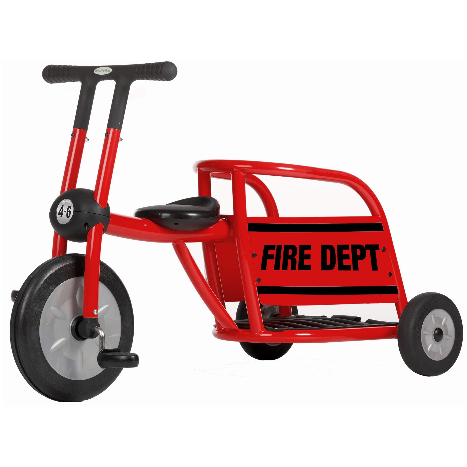 Italtrike Pilot 300 Series Fire Truck Tricycle