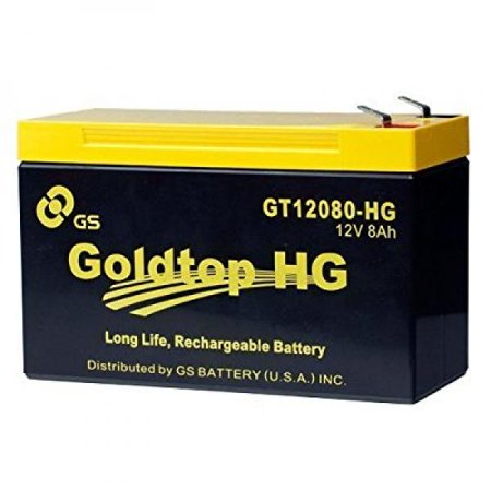 Genuine Fios Oem Approved Replacement Battery  3 Year Warranty  By Gs Battery   Gt12080 Hg   Premium Replacement For Px12072 Hg