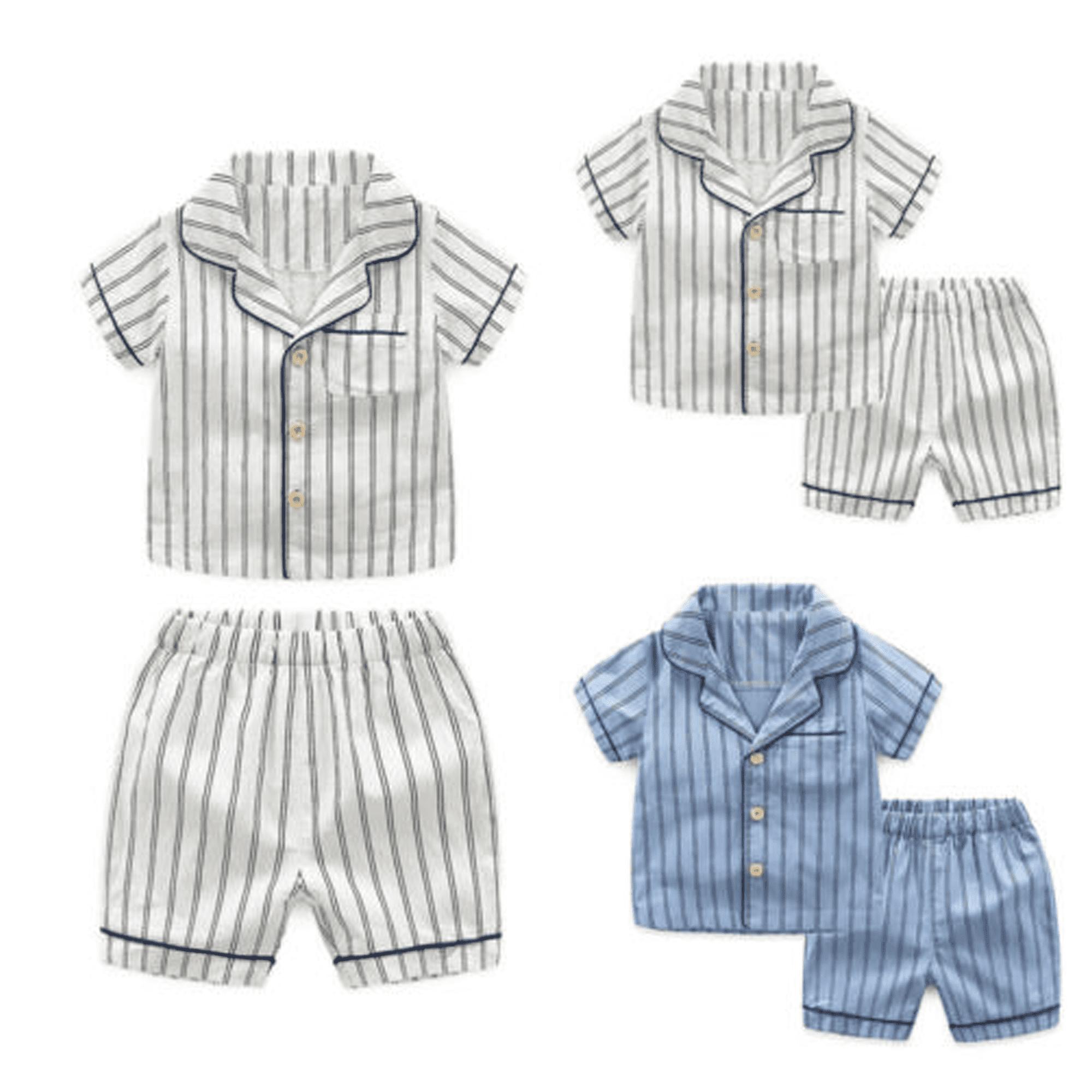 Boys Minions Pyjamas Short Summer Pjs Age 3 to 10 Years