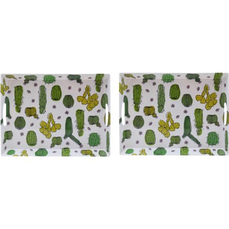 Mainstays 2Pk Cactus Serving Tray