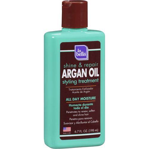 La Bella Argan Shine & Repair Oil Styling Treatment, 6.7 fl oz