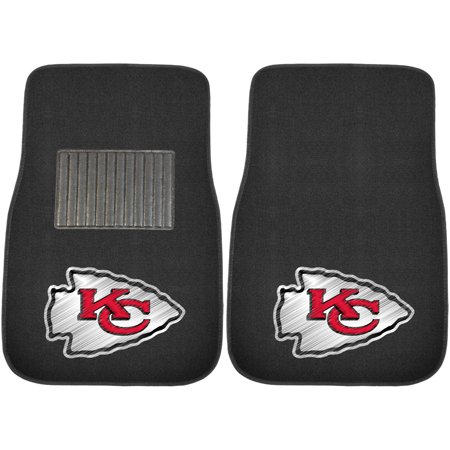 FanMats NFL Kansas City Chiefs 2-Piece Embroidered Car Mats Jacksonville Jaguars Nfl Car Mats