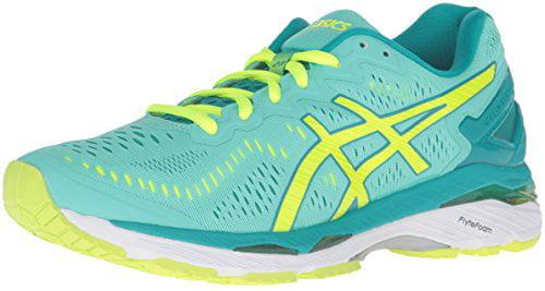 ASICS Women's US Gel-Kayano 23 Running Shoe (Cockatoo/Safety Yellow/Lapis,), US Women's Size 12 1/2 b4b79b