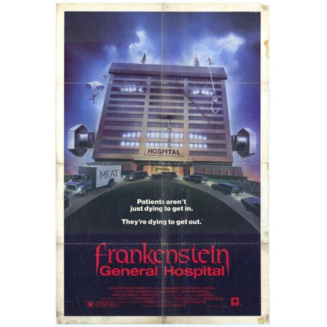 Posterazzi MOVCH8679 Frankenstein-General Hospital Movie Poster - 27 x 40 in. - image 1 of 1