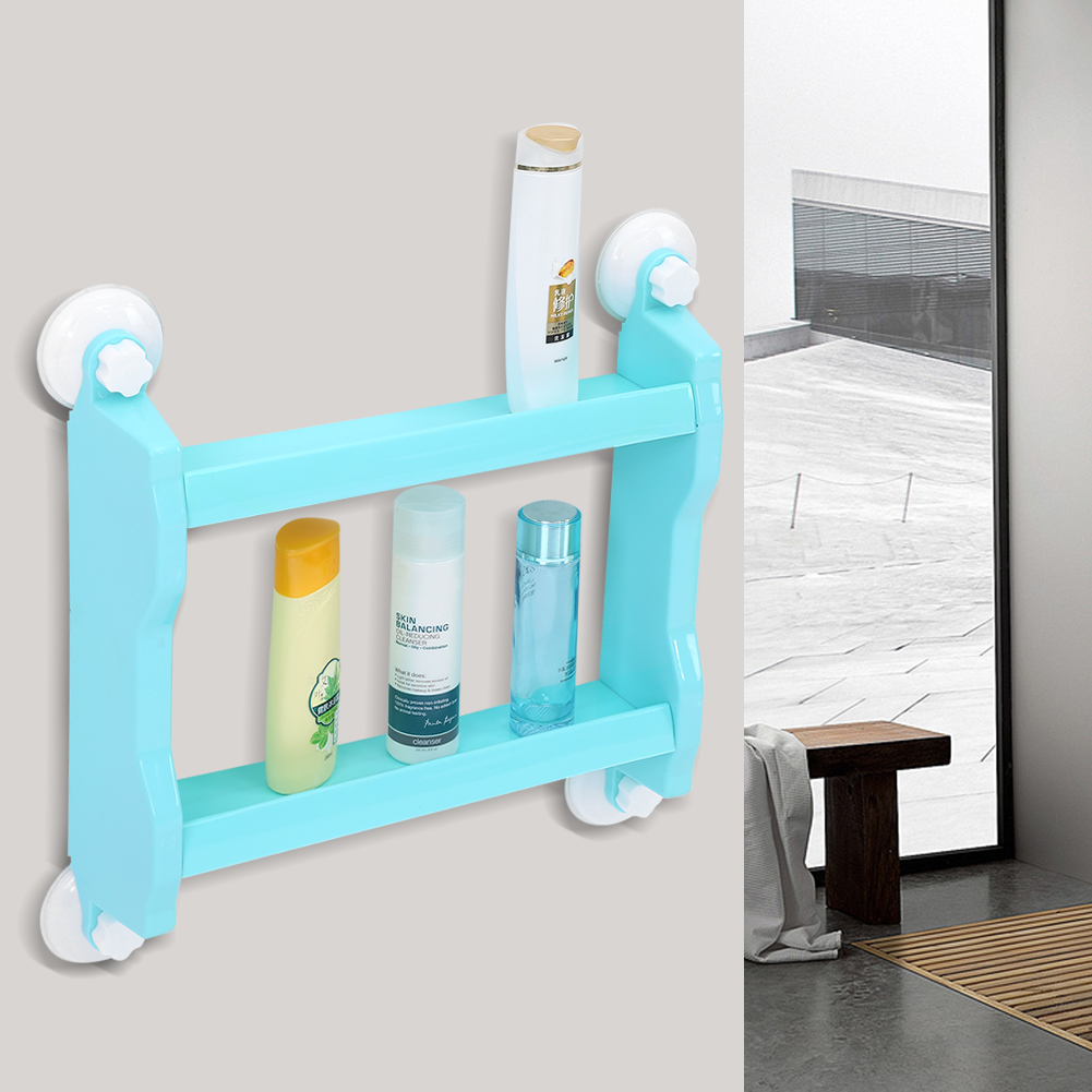 Wall Mount Storage Shelf,made of high quality material ABS Double ...