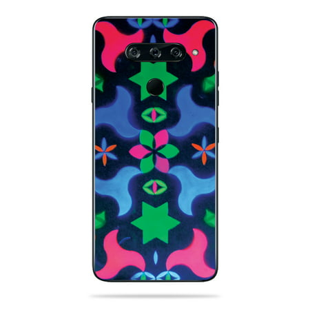 Skin For LG V40 ThinQ - Geometric Rave | MightySkins Protective, Durable, and Unique Vinyl Decal wrap cover | Easy To Apply, Remove, and Change Styles | Made in the USA