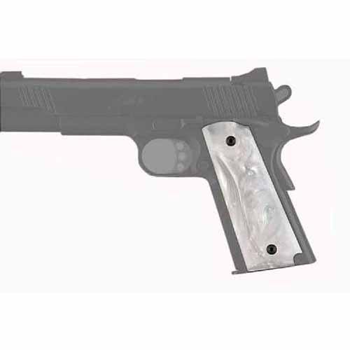 Hogue Government Model Pearlized-Polymer Ambidextrous Safety Cut Grip
