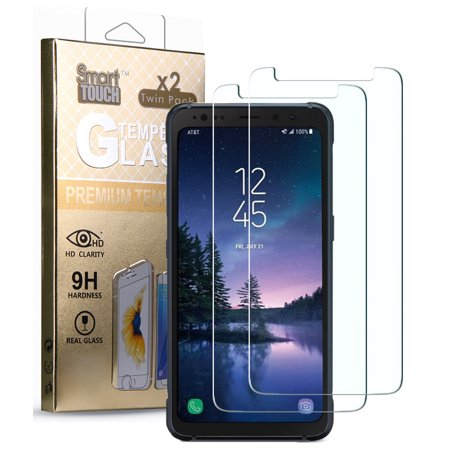 Galaxy S8 Active Tempered Glass, 2X HARD CLEAR SCREEN PROTECTOR CRACK SAVER FOR SAMSUNG GALAXY S8 ACTIVE SM-G892A](Funny Halloween Screensaver)