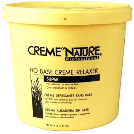 Natural Hair Cream Relaxer