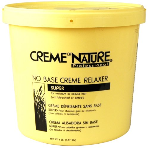 Cream of Nature No Base Relaxer 64 oz. - Super 64 oz. (Pack of 3)