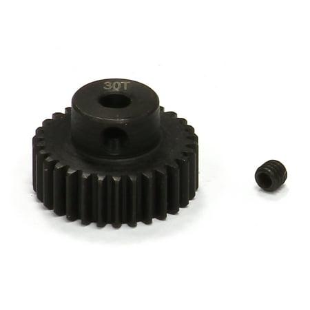 - Integy RC Toy Model Hop-ups T3480 30T Steel Pinion Gear for 1/16 Traxxas E-Revo, Slash, Summit, Rally