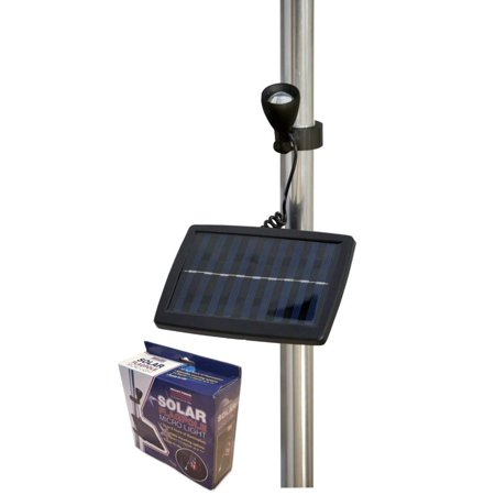 "Flag Micro Solar Light, Black, SOLAR FLAG POLE LIGHT: United States Flag Code states ""the American Flag may be displayed 24-hours a day if properly illuminated.., By Valley Forge 24 Pole Flags"