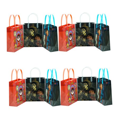 12pc COCO Goody Bag Disney COCO Party Favor Goodie Bags Gift Bags Birthday Party](Goodie Or Goody)