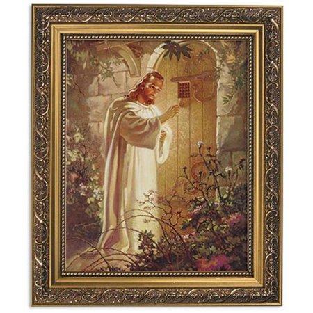 Heart Small Framed Print - CB Catholic 79-350 Framed Print - 13 in. Sallman Christ Heart