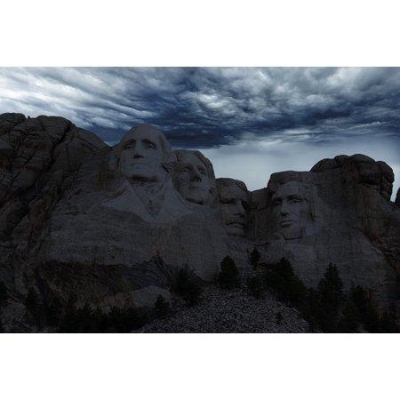 LAMINATED POSTER Rushmore Sculpture Washington Usa Mount Rushmore Poster Print 24 x 36