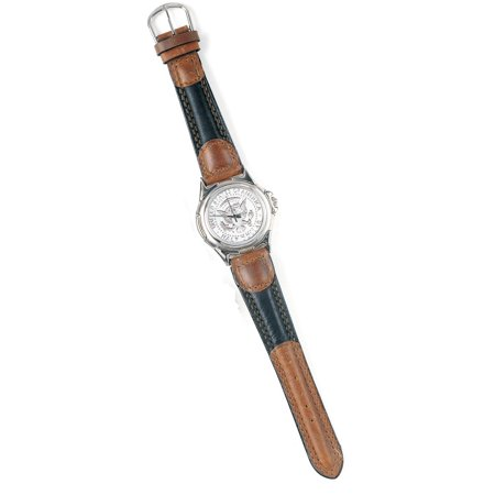 John Deere Watch (Presidential Seal JFK Half Dollar Coin Two Tone Wrist Watch )